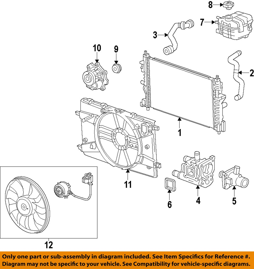 Chevrolet Sonic Repair Manual: Thermostat
