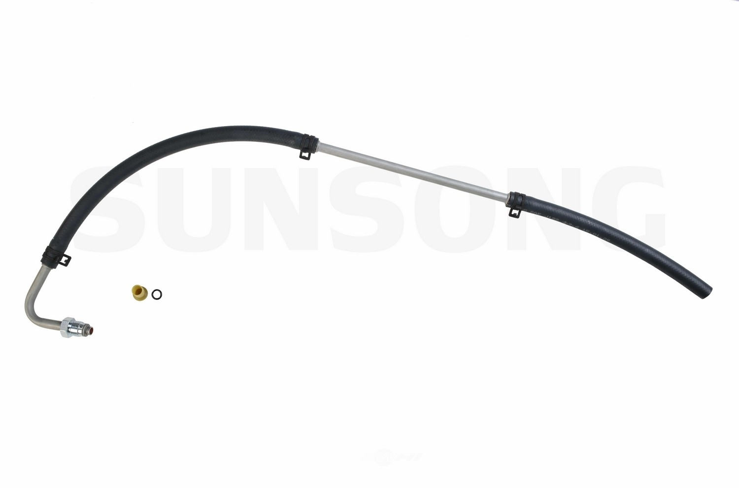 power steering return line hose assembly fits 03
