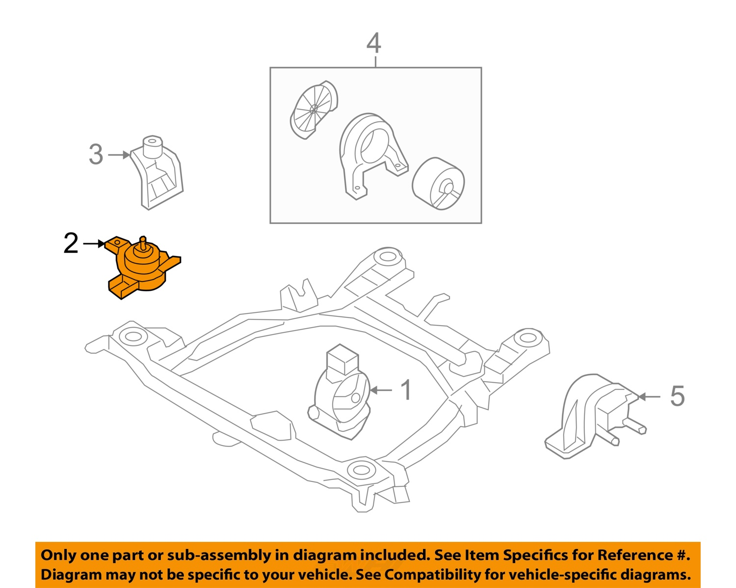 Hyundai Santa Fe Engine Mounts Diagram Wiring Library 2 On Only Genuine Oe Factory Original Item Oem 10 12