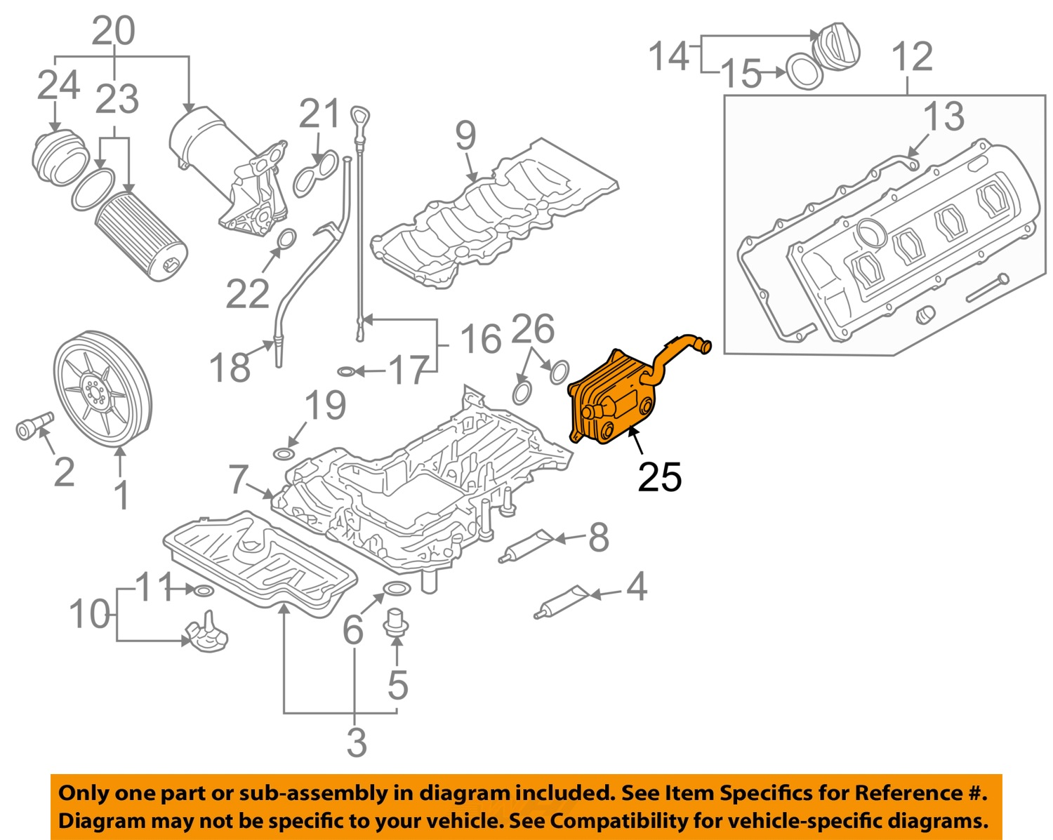 Audi A8l Engine Diagram Free Download Wiring Diagrams 2016 A8 Oem 07 10 Quattro Oil Cooler 079117015b Ebay 25 On Only Genuine Oe Factory Original Item At S6