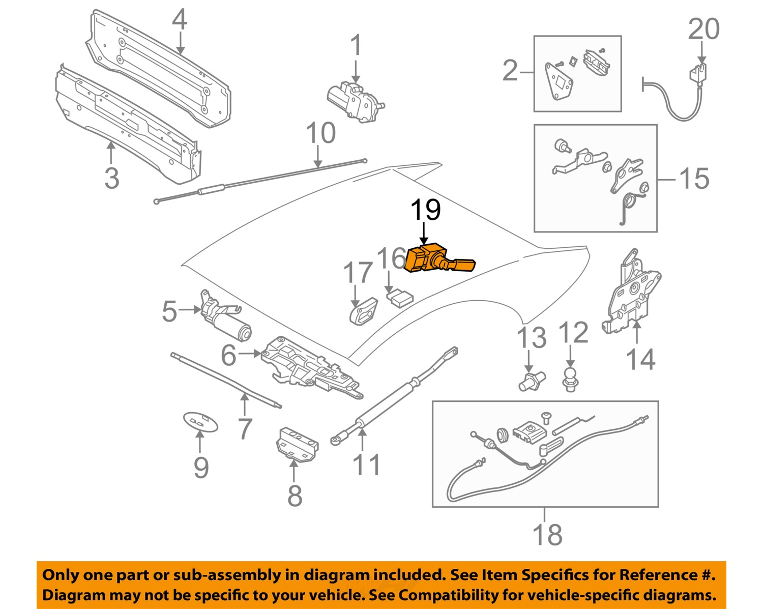 bmw oem 08 10 m6 convertible top sensor 54348268997 ebay rh ebay com bmw e36 convertible top wiring diagram bmw e36 convertible top wiring diagram