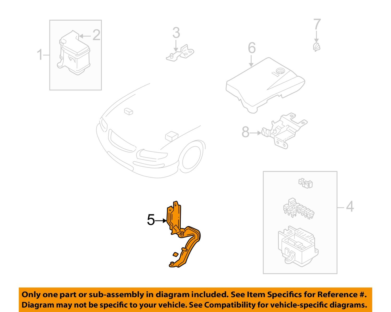 Mazda Oem 00 02 Millenia Electrical Fuse Box Bracket T00667b1x Ebay Mounts