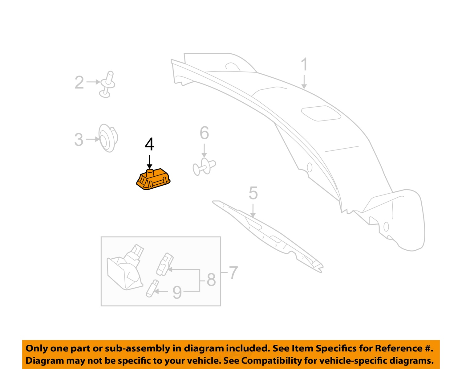 Mercedes oem 14 15 e350 trunk lid lock switch 2208211479 for Mercedes benz oem replacement parts