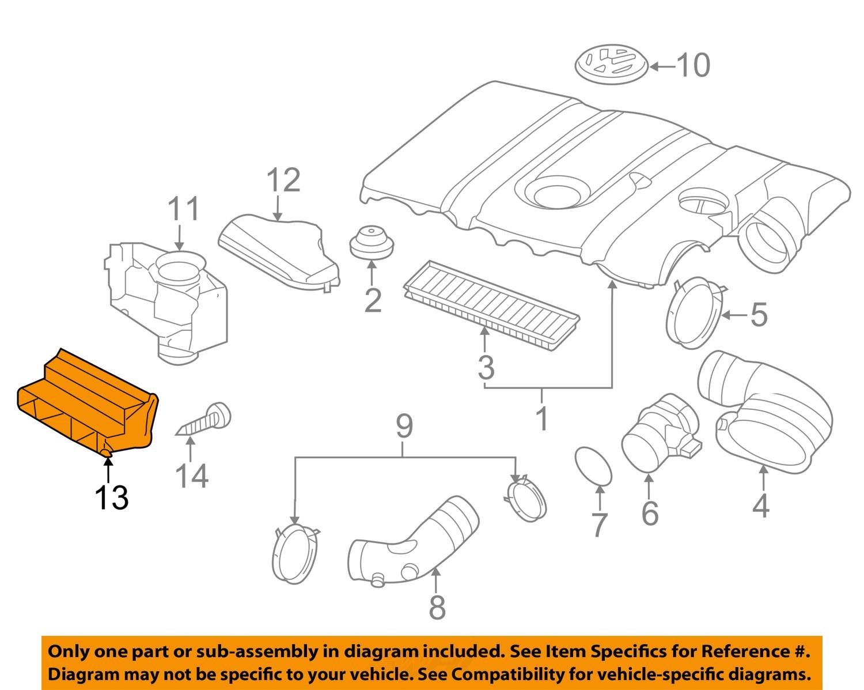 VW VOLKSWAGEN OEM 05-16 Jetta Air Intake-Inlet Duct Hose Tube 1K0805971C9B9 603803005175 | eBay