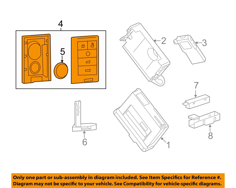 Gm Key Fob Diagram 18 Wiring Images Diagrams 2010 Land Rover Lr2 Fuse Box Bd13210 4full Cadillac Oem 13 15 Xts Keyless Entry Remote Transmitter