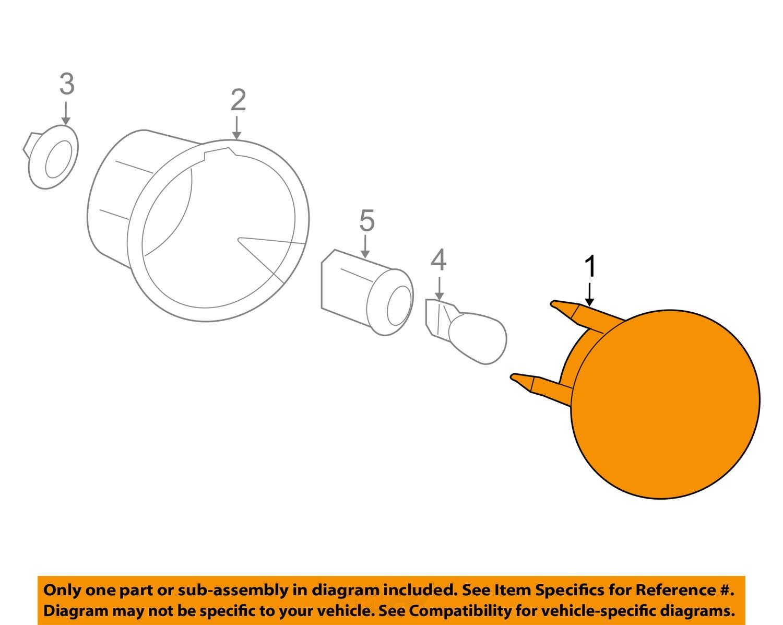 CH06540 1Full Chevrolet GM OEM 06 11 HHR Taillight Tail Light Lamp Assy Left 20778530