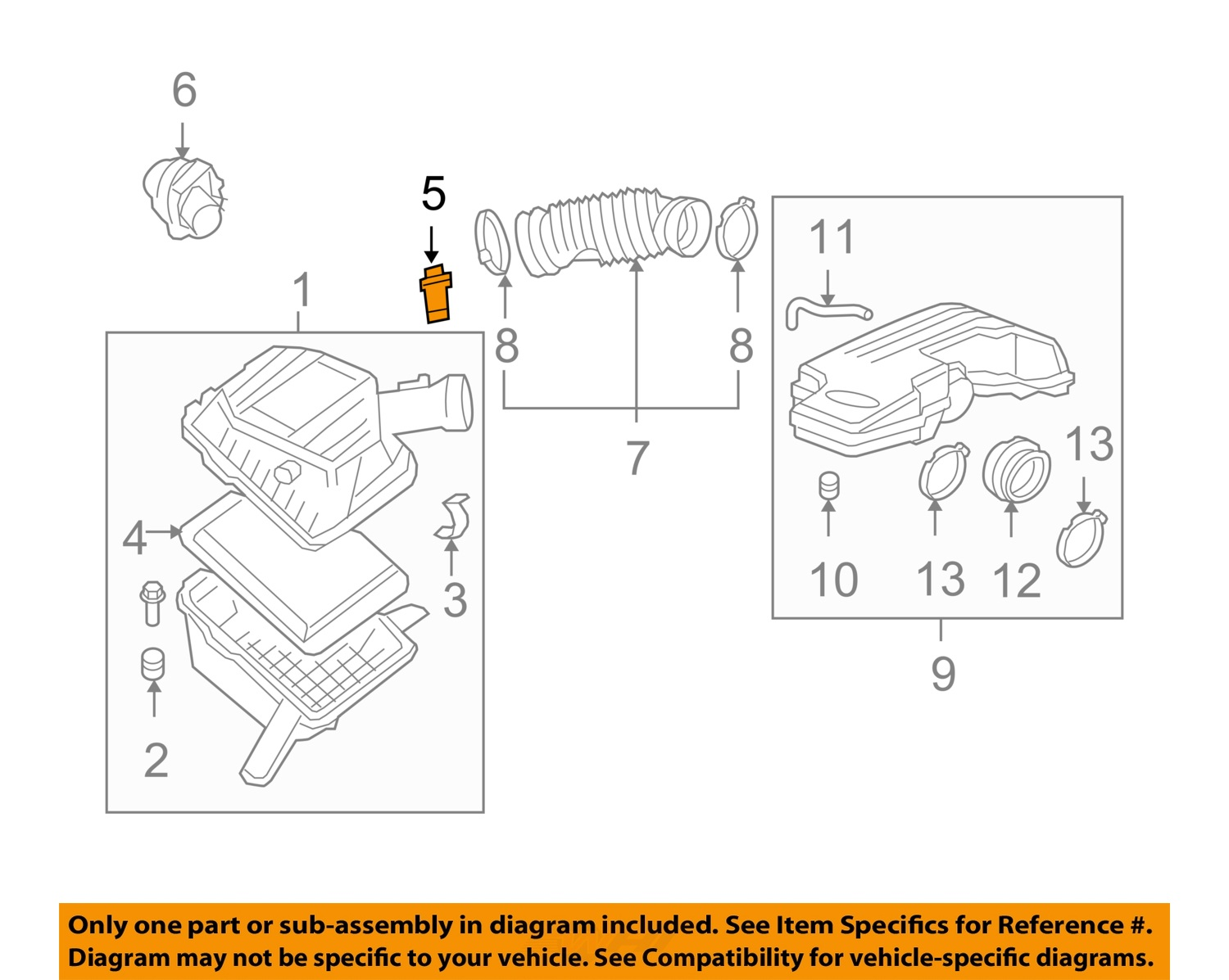 Details about GM OEM-M Air Flow Sensor 15865791 on