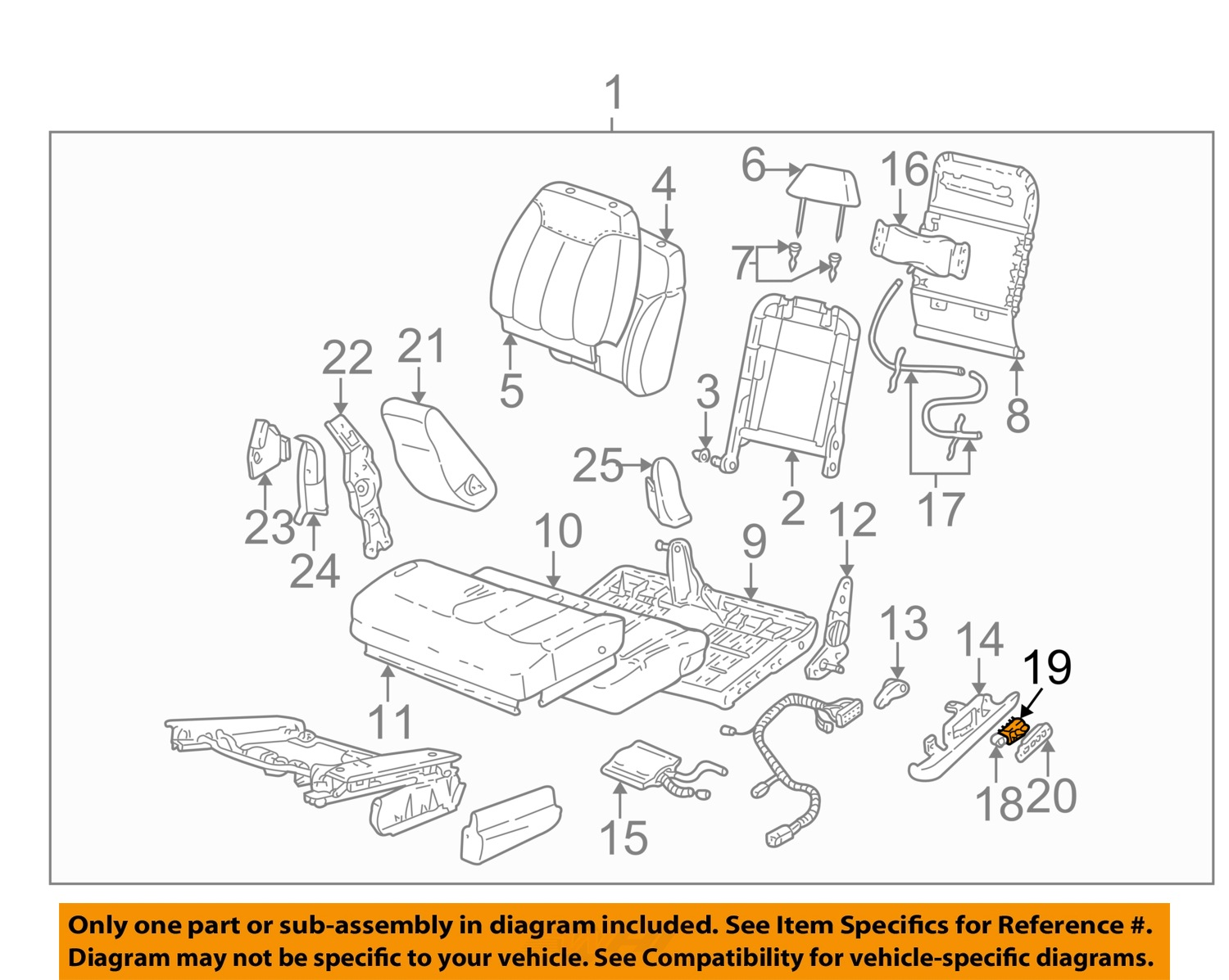 Gm Oem Power Seat Switch 22543666 Ebay Top Wiring Diagram For 1942 47 Chevrolet Passenger Cars Cabriolet 19 On Only Genuine Oe Factory Original Item