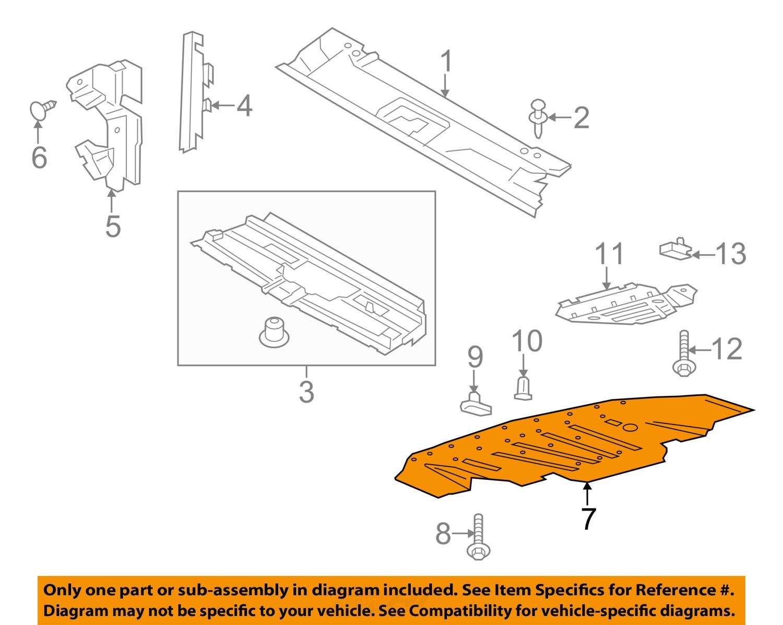 #7 on diagram only-genuine oe factory original item