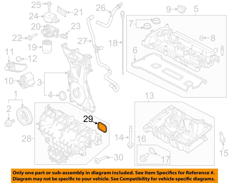 Ford Oem Engine Intake Manifold Gasket Cj5z 9439 A Factory Package With Diagram Cj5z9439a