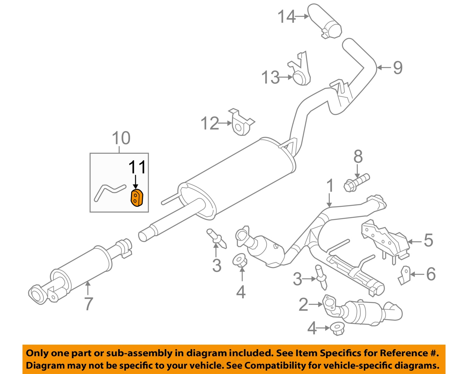 2004 F150 Exhaust Diagram Ford System 2005 4 6l F 150 Engine Pulley Auto Parts