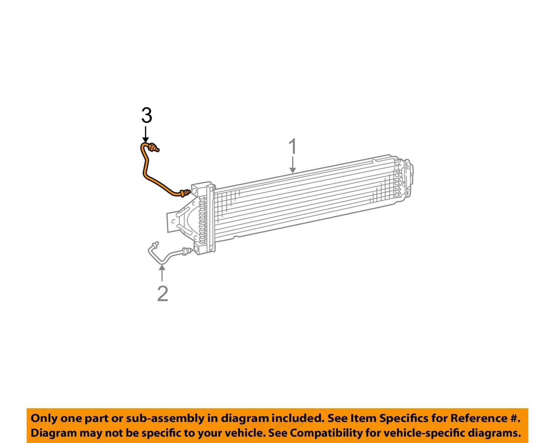 TF97341_3Full dodge chrysler oem 00 03 durango transmission oil cooler inlet