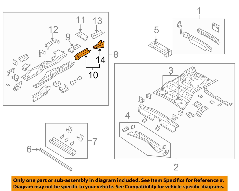 Jeep chrysler oem 07 17 compass floor rear body rail extension image is loading jeep chrysler oem 07 17 compass floor rear pooptronica